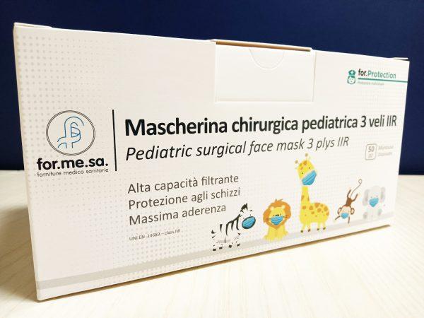 Mascherina chirurgica per bambini