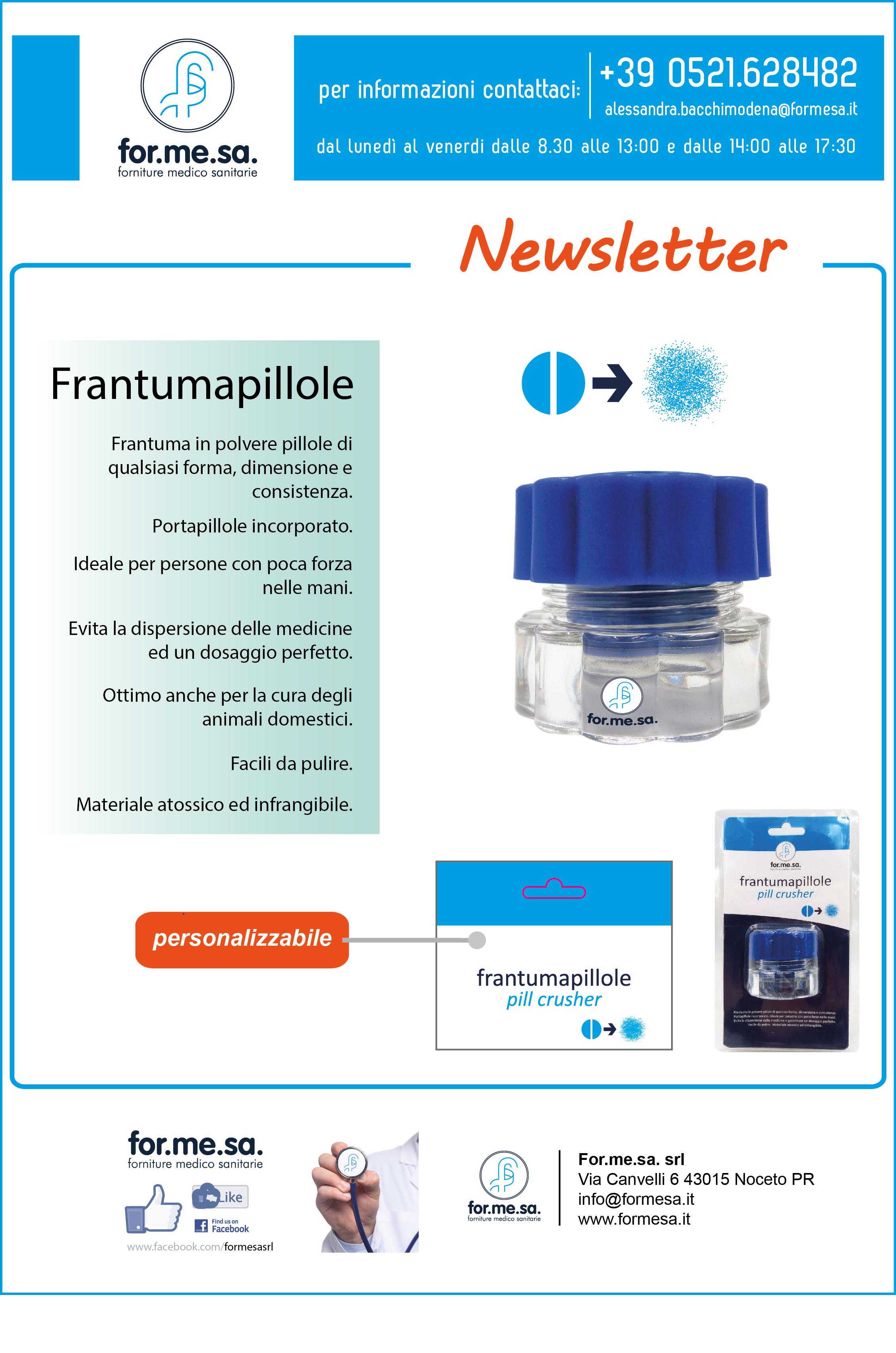 FRANTUMAPILLOLE-sz prezzo